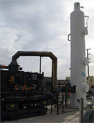geothermal SO2 scrubber