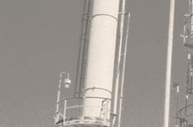 Ammonia Scrubber Stack