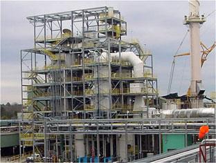 hazardous waste incinerator scrubber