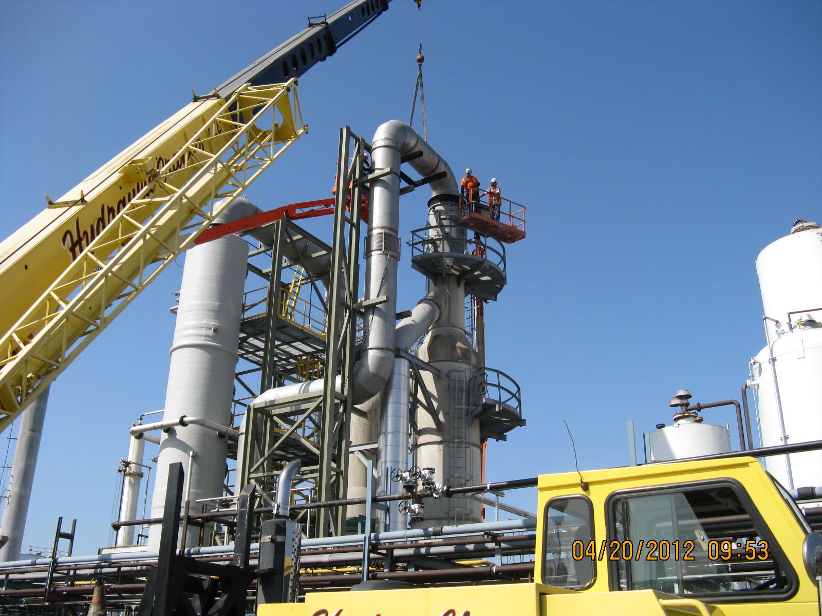 Waste Oil Re Refiner So2 Scrubber