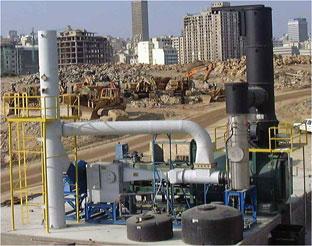 incinerator scrubber