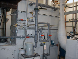 industrial waste incinerator scrubber