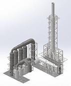 Sulfite Pulp Mill Scrubber