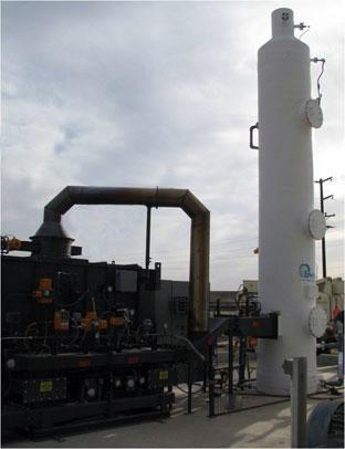 thermal oxidizer scrubber