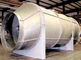 Venturi Scrubber Throat Design for Large Gas Flow Processes