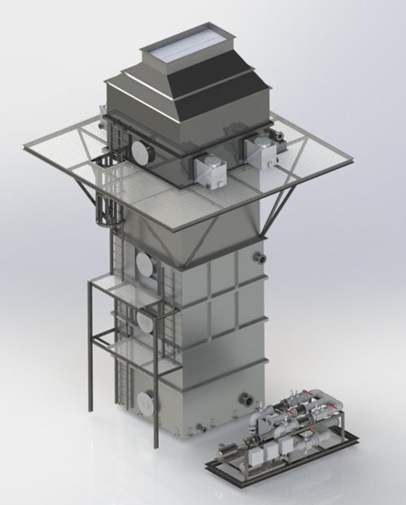 Wet Electrostatic Precipitator For Pellet Mills