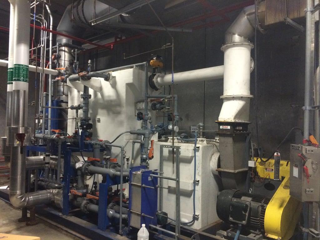 Venturi scrubber incinerator