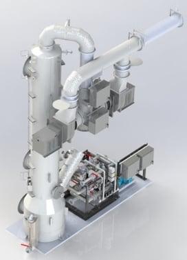 Fermentation H2S Scrubber